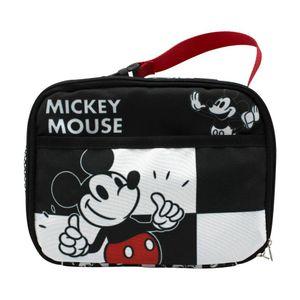 Lancheira-Termica-2-bolsos-Mickey-Xadrez