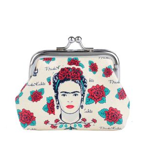 Porta-Moedas-Frida-Kahlo-Face-And-Skull_A