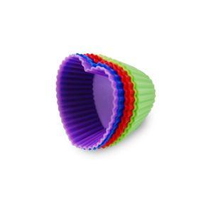 Jogo-De-6-Forminhas-Coloridas-Para-Cupcake-Coracao-Em-Silicone_a