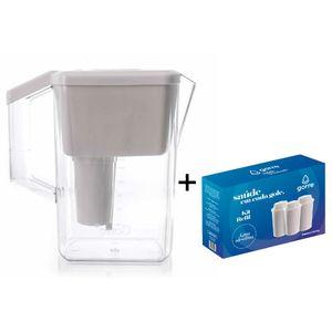 Jarra-Purificadora-para-Agua-Alcalina-Branca-com-kit-filtro-ceramica-minerais
