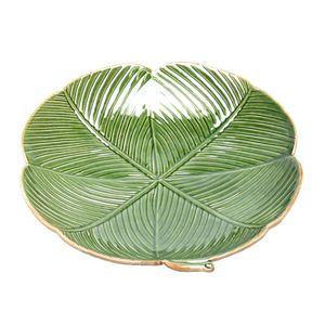 Prato-Em-Ceramica-Folha-Banana-Verde-Redondo-13-x-3-Cm_B