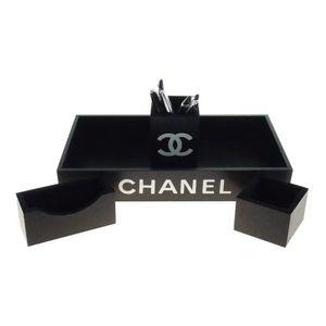 Kit-Escritorio-4-Pecas-Chanel-Preto